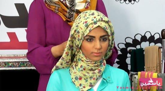 طريقة لف طرحة الحجاب الصباحي
