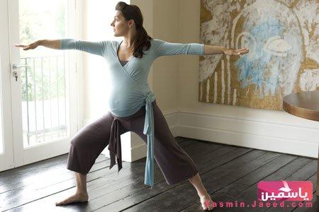 رياضة يومية للحامل للتغلب على زيادة الوزن و ولادة سهلة